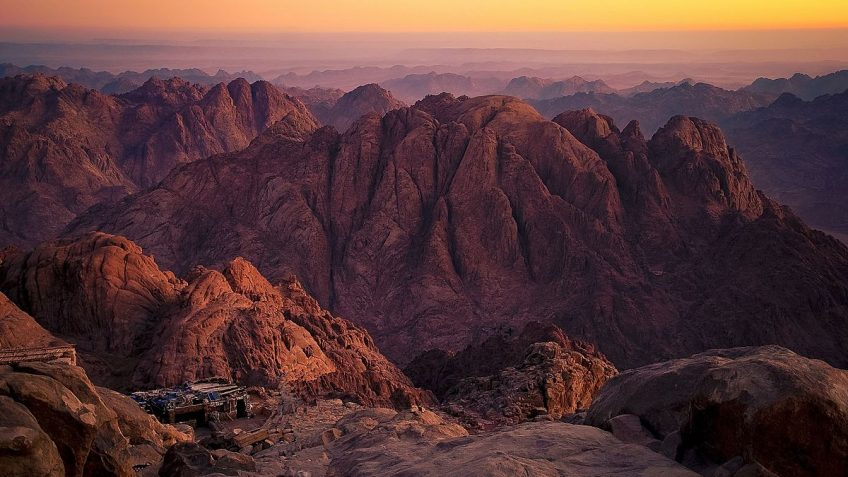 Mount Sinai - Moses Mountain