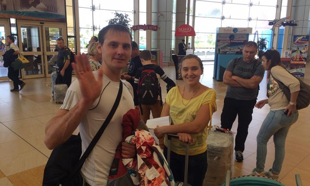 223 Russian tourists land in Sharm el-Sheikh on a Kazakh flight